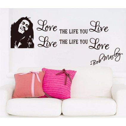 Miluj život Bob Marley úvod