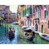 """Pictura pe numere """"Veneția"""" 50x40 cm"""