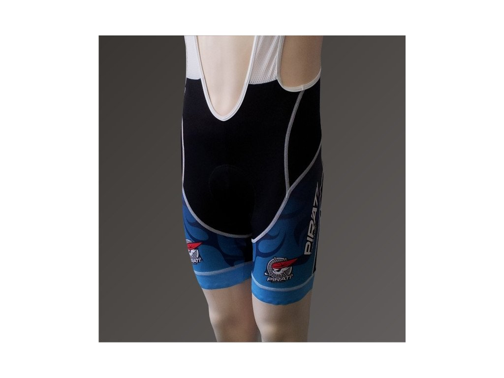 Cyklo kalhoty pánské PIRÁTI krátké