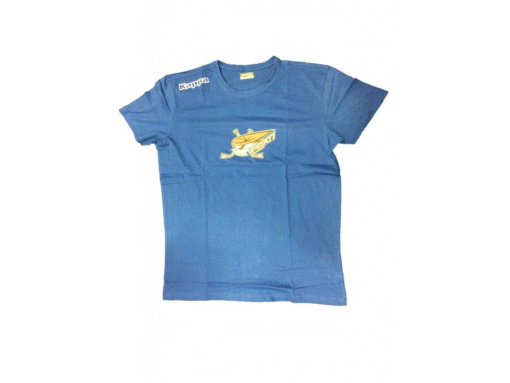 399b41baef36 Pánské tričko Piráti KAPPA světle modré - PIRÁTI SHOP