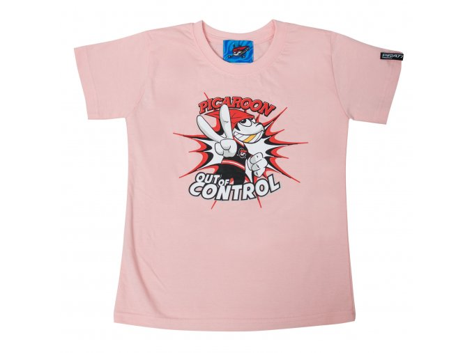 Dětské tričko PICAROON OUT OF CONTROL pink