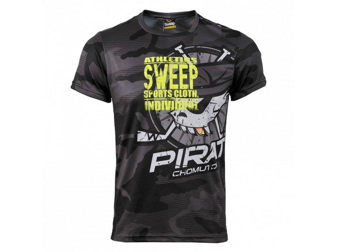 Pánské triko Piráti Sweep gray