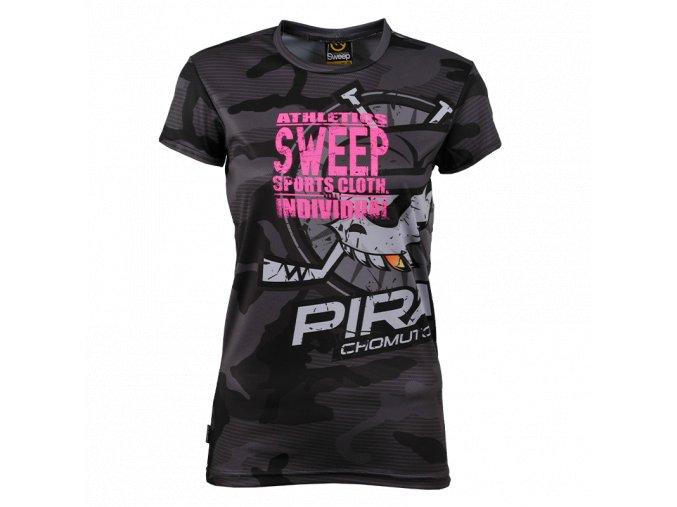 Dámské tričko Piráti SWEEP gray