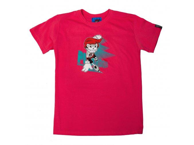 Dětské tričko PICAROON SUPERMOVE pink