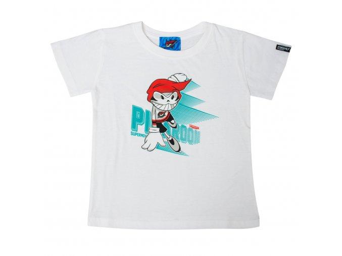 Dětské tričko PICAROON SUPERMOVE white