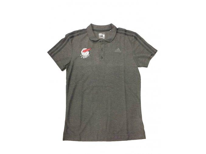 tričko adidas šedé