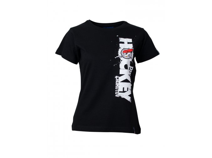 Dámské tričko PIRÁTI VERTICAL black