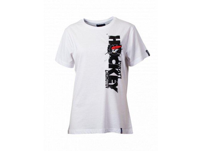 Dámské tričko PIRÁTI VERTICAL white