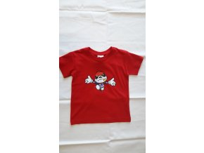 Dětské tričko PICAROON červené