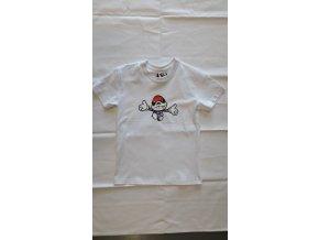 Dětské tričko PICAROON bílé