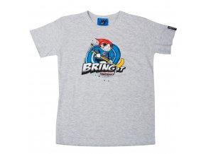 Dětské tričko PICAROON BRING IT gray