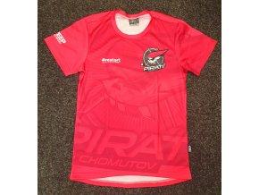 Dětské tričko růžové RESTART Piráti SWEEP