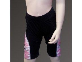 Dětské cyklo kalhoty PICAROON pink