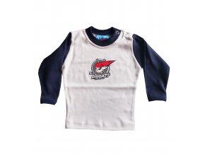 Tričko PIRÁTI BABY modré dlouhý rukáv