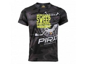 Pánské tričko Piráti SWEEP gray