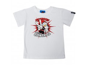 Dětské tričko PICAROON OUT OF CONTROL white
