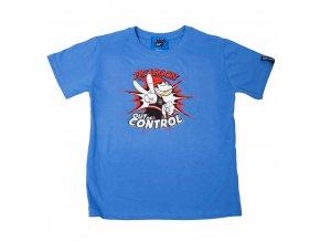 Dětské tričko PICAROON OUT OF CONTROL blue
