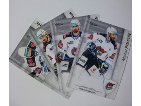 Hokejové karty - sada 4 ks - sada 3