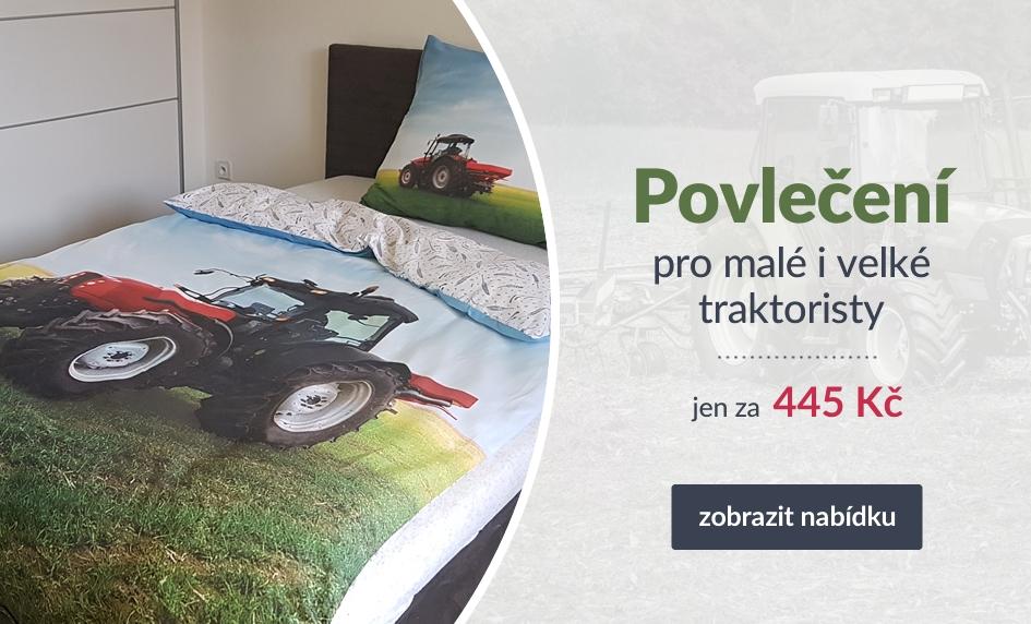 Povlečení pro malé i velké traktoristy