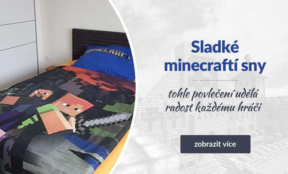 Povlečení Minecraft pro každého nadšeného fandu této hry
