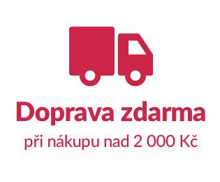 Doprava zdarma od 2 000 Kč