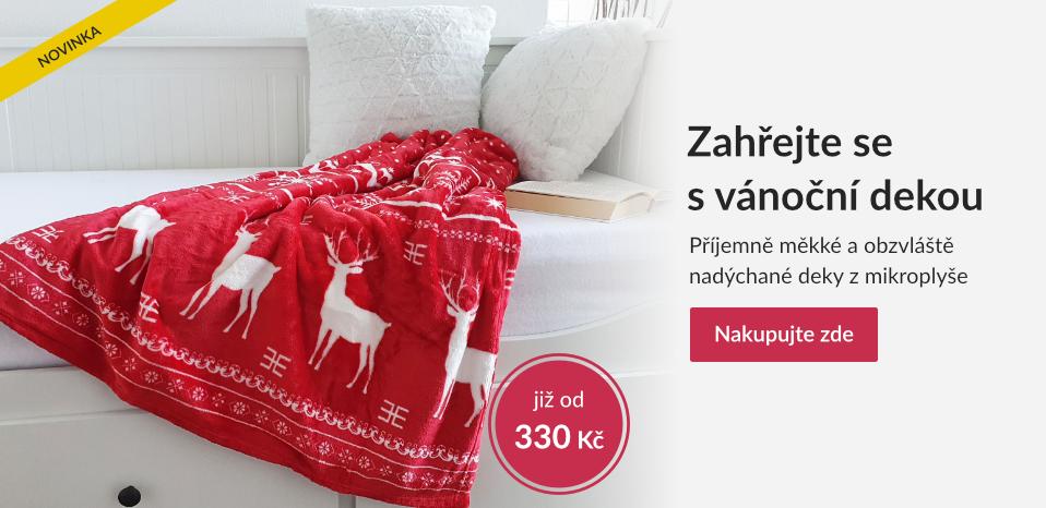 vánoční deky