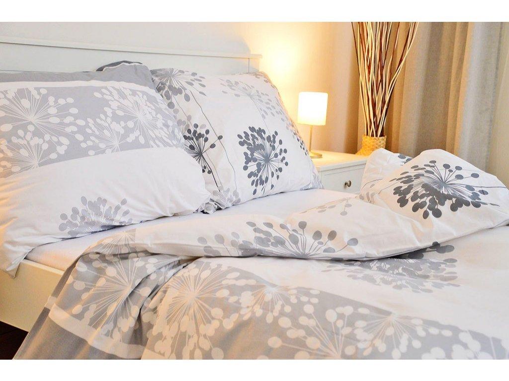 Bavlněný povlak na polštář 45x65 - Carmen bílá