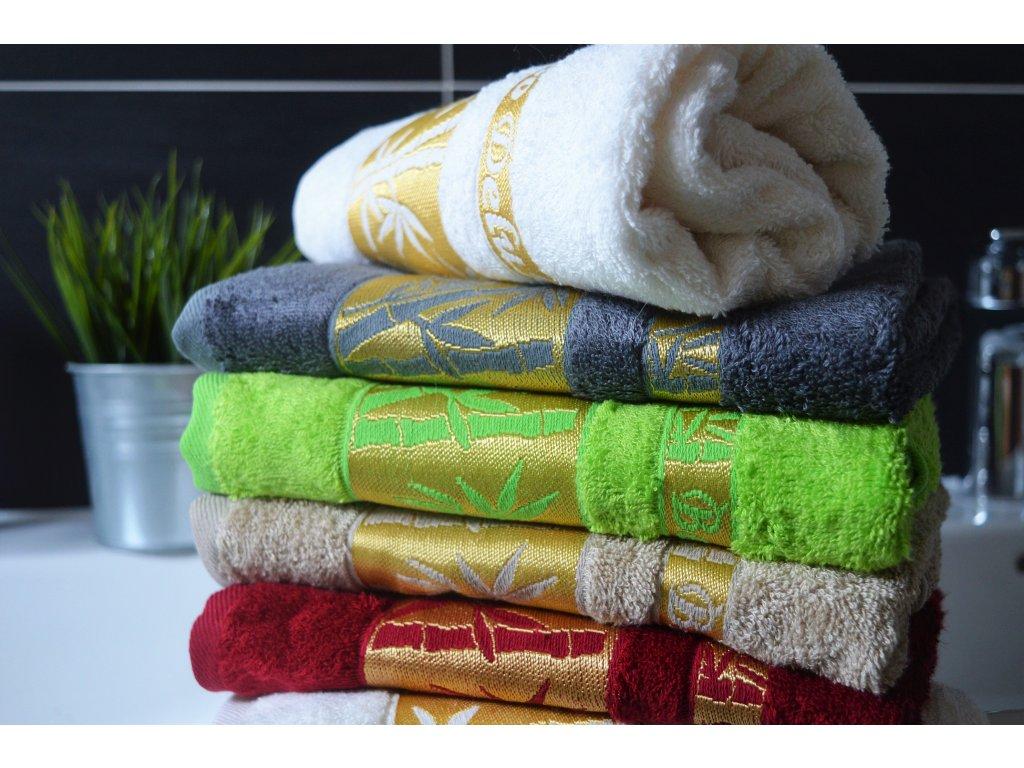 Bambusový ručník BAMBOO Exclusive - krémový 50x90