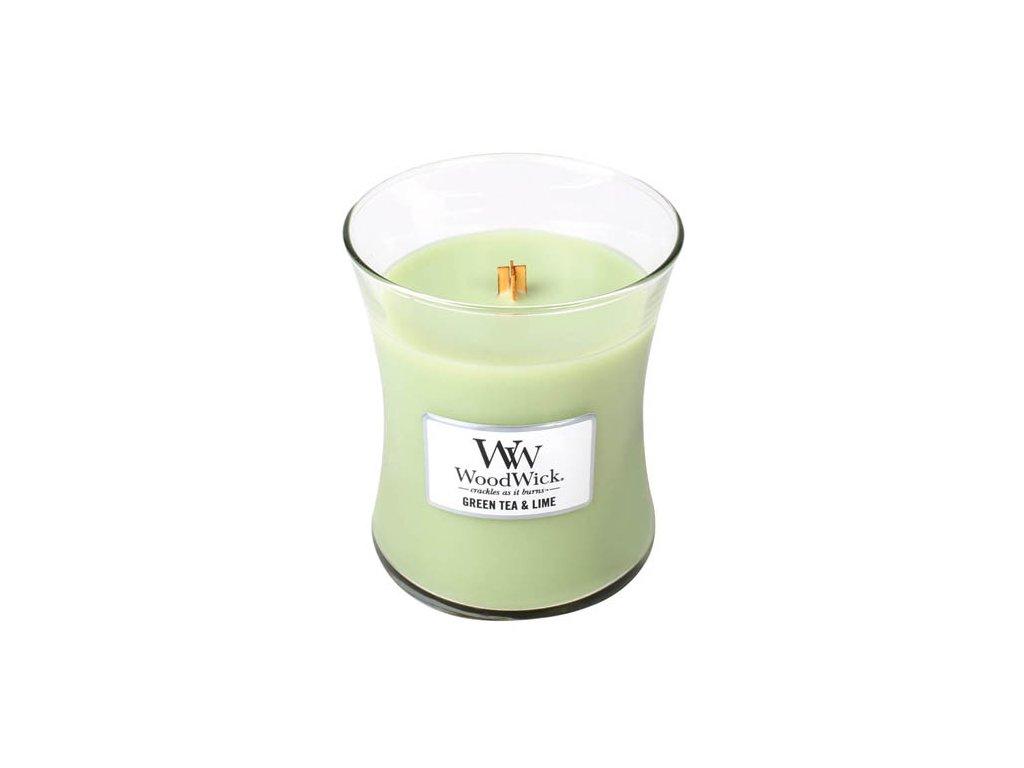 svíčka zelený čaj a limetka