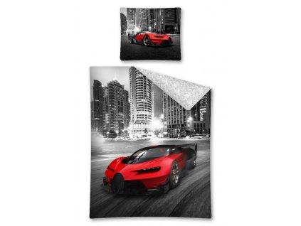 Bavlněné povlečení - Super Car - 140x200 + 70x80