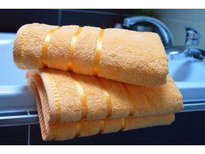 bambusový ručník meruňka2 – kopie