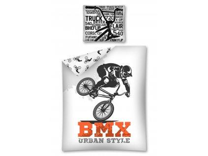Bavlněné povlečení - BMX - 140x200 + 70x80