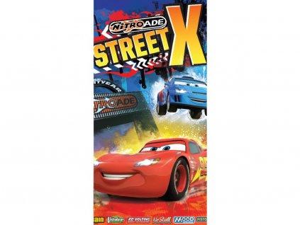 Froté osuška - Cars Street X 70x140