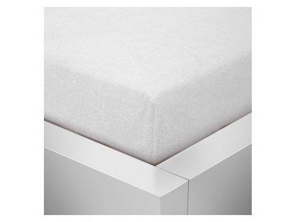 Froté prostěradlo 70x140 - Bílé