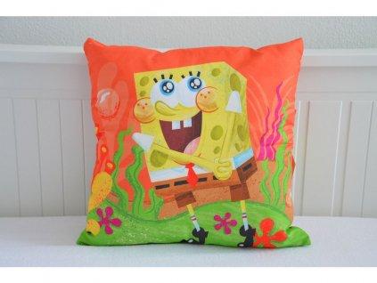Licenční povlak s motivem Sponge Bob - 40x40