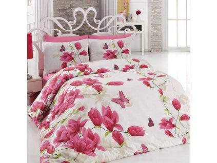 Bavlnene povleceni Alize Pink 140 x 200 cm 70 x 90 cm
