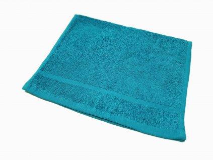 Froté ručník 30x50 - Azurově modrý