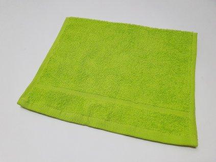 Froté ručník 30x50 - Zelený Pistáciový