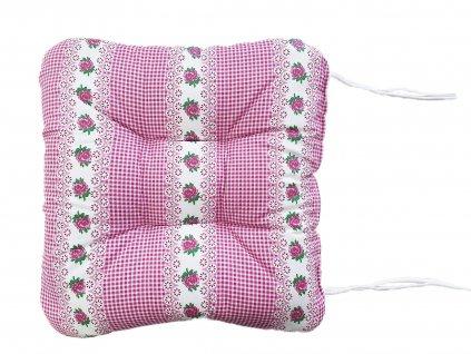 Sedák na židli - Mirabelka fialová