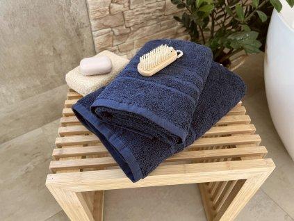 Froté ručník HOTEL 500g - Marine modrý 50x100