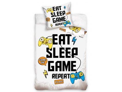 p328967 bavlnene povleceni eat sleep game repeat nl201020 1 1 338545