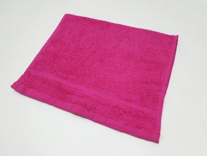 ručník30x50purpurový