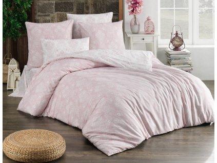 palmina pink bavlnene povleceni almina pudrove bedtex 1 1 754713