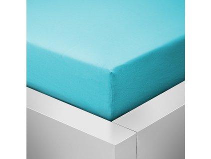Froté prostěradlo 60x120 - Světle modré