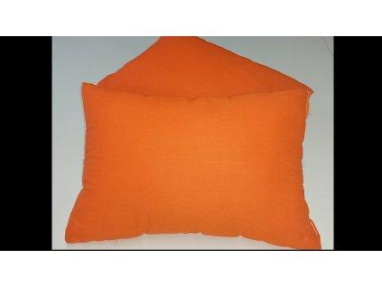 Polštářek - macík sada 2ks 35x45 - Oranžový