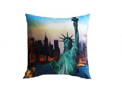 3D polštářek New York