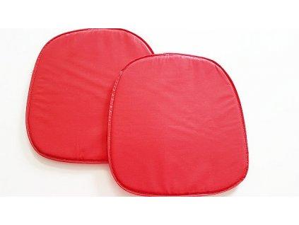 Sedák na židli 39x37 - červený