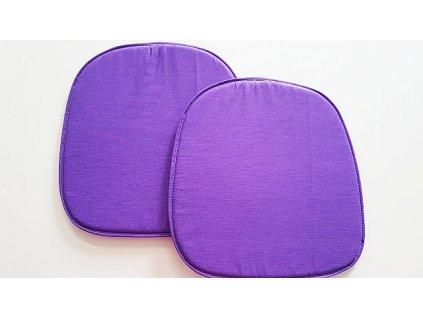 Sedák na židli 39x37 - fialový