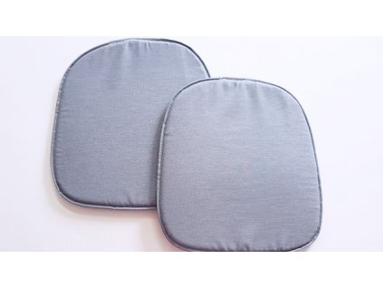 Sedák na židli 39x37 - šedý