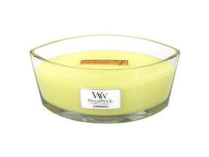 woodwick dekorativni vaza lemongrass 453 6g